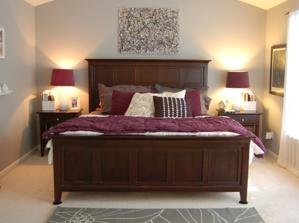 Can You Create A Romantic Bedroom That He Can Live With