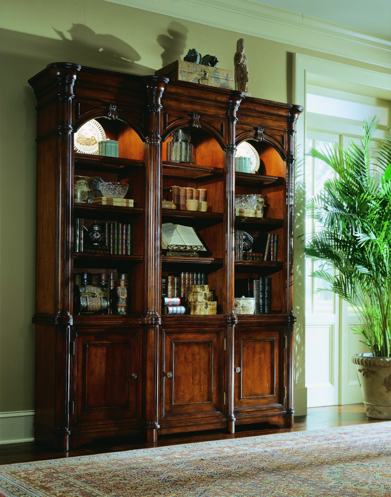 Add A Sense Of Grand Style With Bookcases