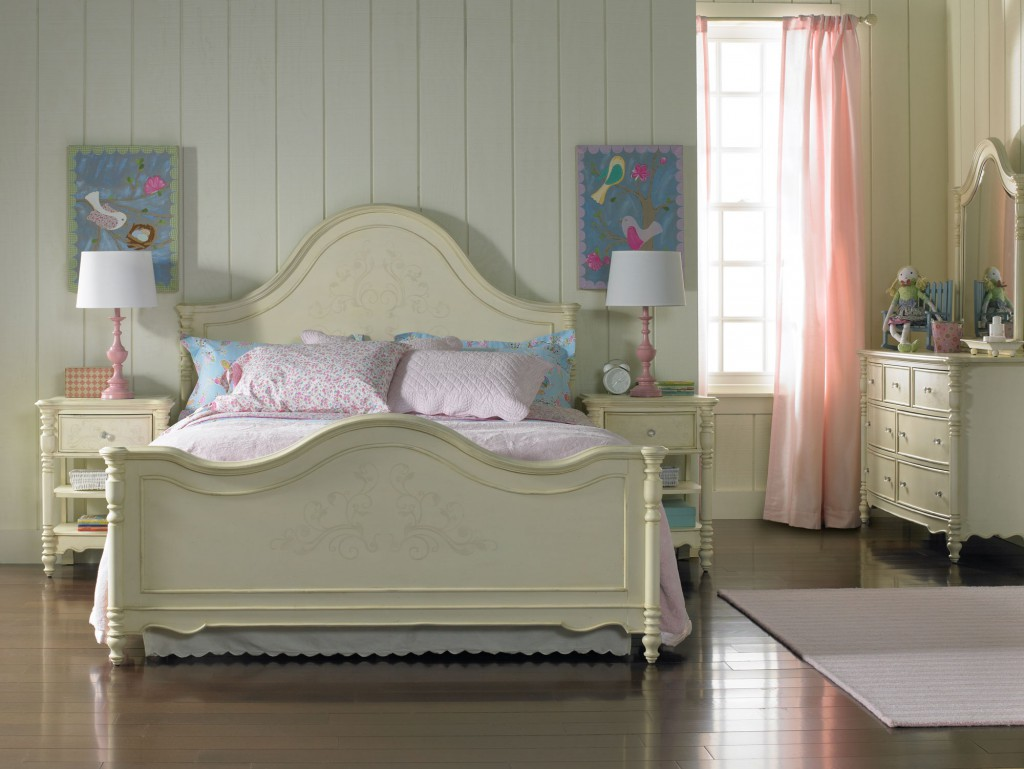 A room fit for a princess hooker furniture corporation for Bedroom ideas young adults