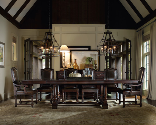 touches of grandeur for downton abbey fans – hooker furniture