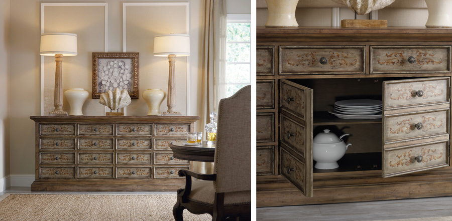 Drawer chest is stylish, functional