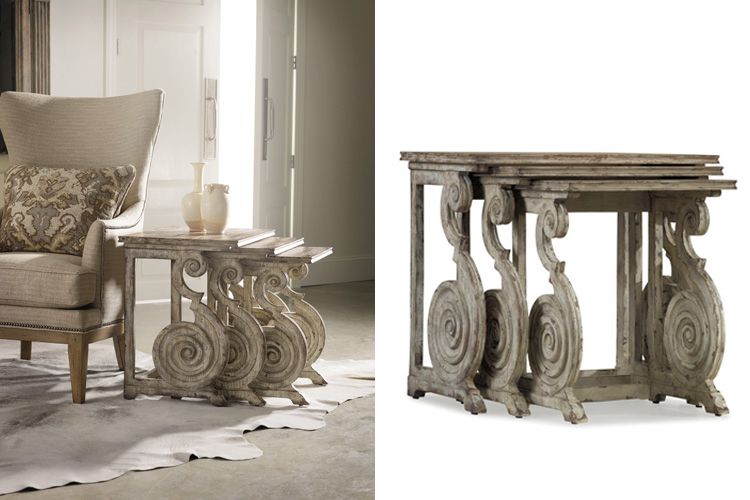 Rhapsody nested scroll tables