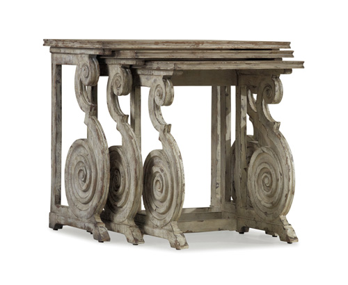 Rhapsody nesting tables