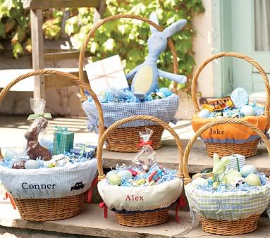 Personalized Easter basket liners bring new twist