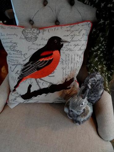 Bird motifs welcome Spring