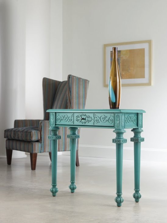 Tyfani console by Hooker Furniture