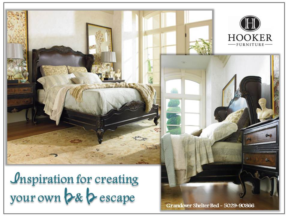 Inspiration for creating your own B & B escape