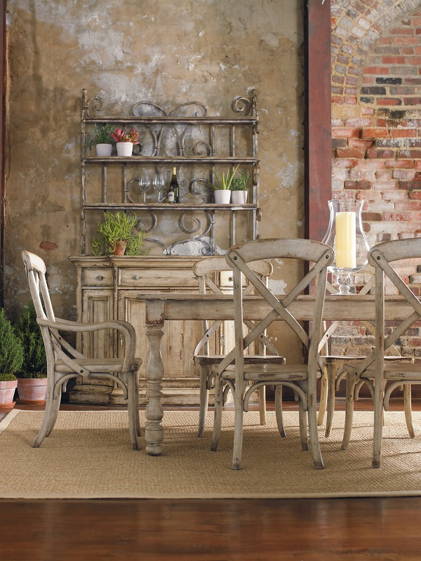 The Wakefield dining table is perfect for entertaining a crowd.