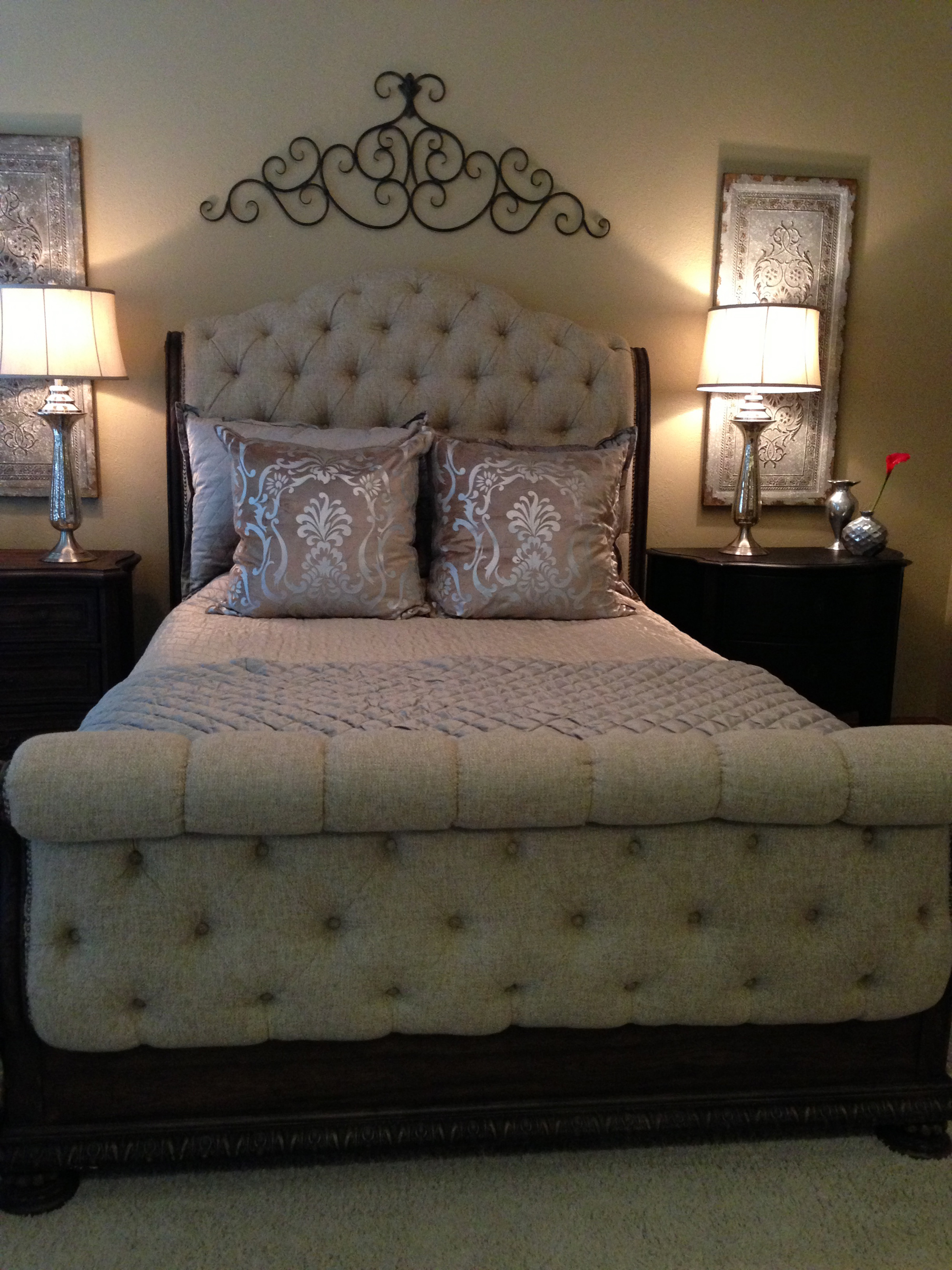 Luxurious Bedding Completed Carsonu0027s Rhapsody Oasis