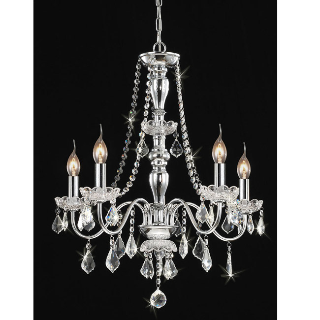 Chandelier adds royal sparkle