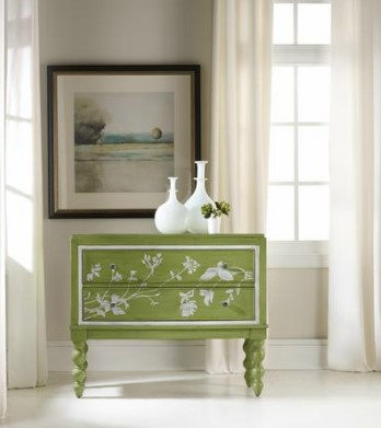 Lime finish updates classic chest