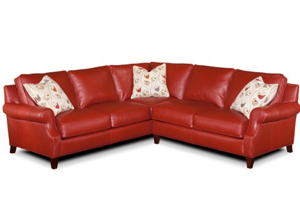 Bradington-Young Twitter sectional