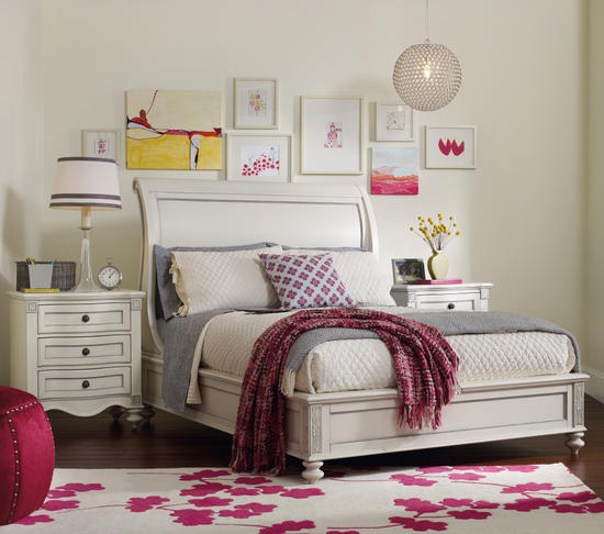Claire sleigh bed