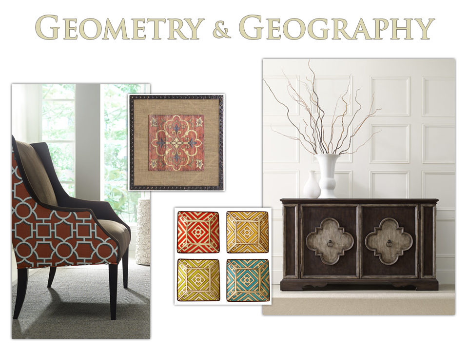 furniture motifs. global geometric motifs are style story for high point market furniture