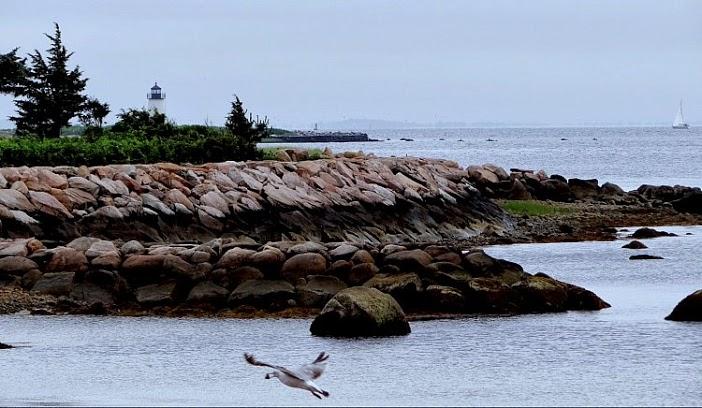 Birds Island Lighthouse, Marion, Massachusetts