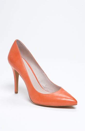 Orange Pumps from Nordstrom's by Vince Camuto