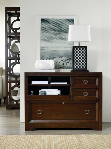Kinsey console doesn't look like a file cabinet