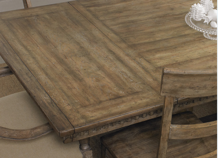 With a dining room table as beautiful as the Sorella from Hooker Furniture, you can skip the tablecloth altogether.