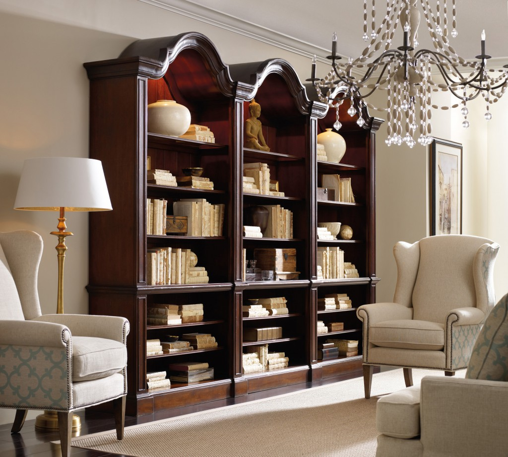 Bookcases are a great way to organize the home while keeping items on display and easily accessible.