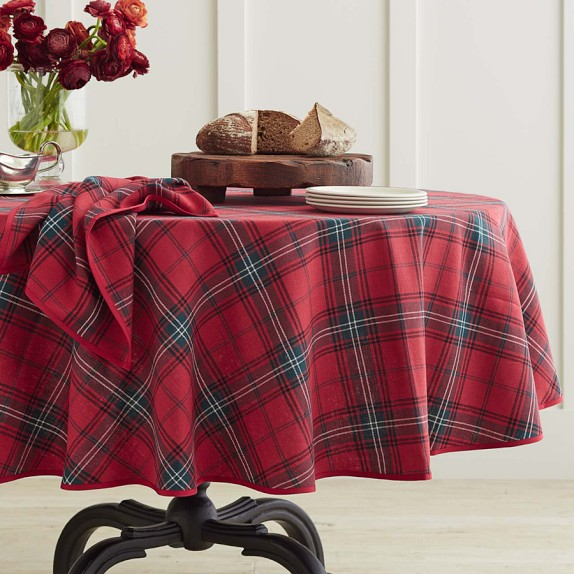 Everything Looks Yummier When Served On A Beautiful Tartan Tablecloth From  Your Dining Tables. /