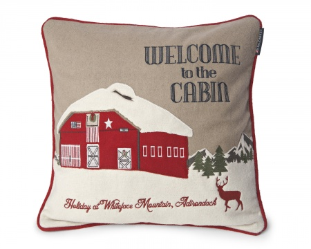 Welcome to the Cabin pillow