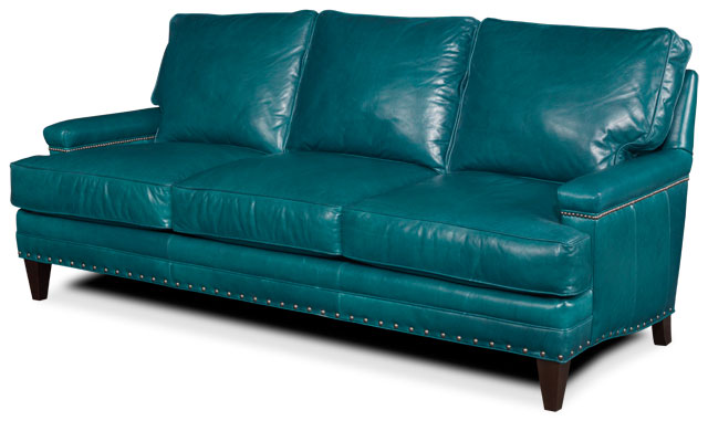 The Cannon sofa offers a bold & happy color choice.