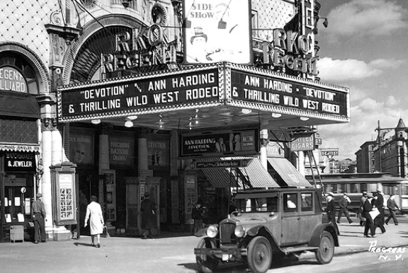 New York's RKO's Regent Theater opened in 1913