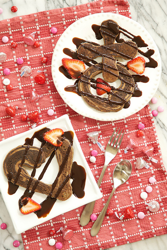 Chocolate Pancake Love Letters from Apron Strings