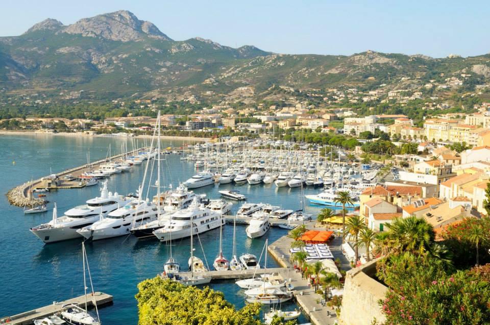 The breathtaking Corsican harbor