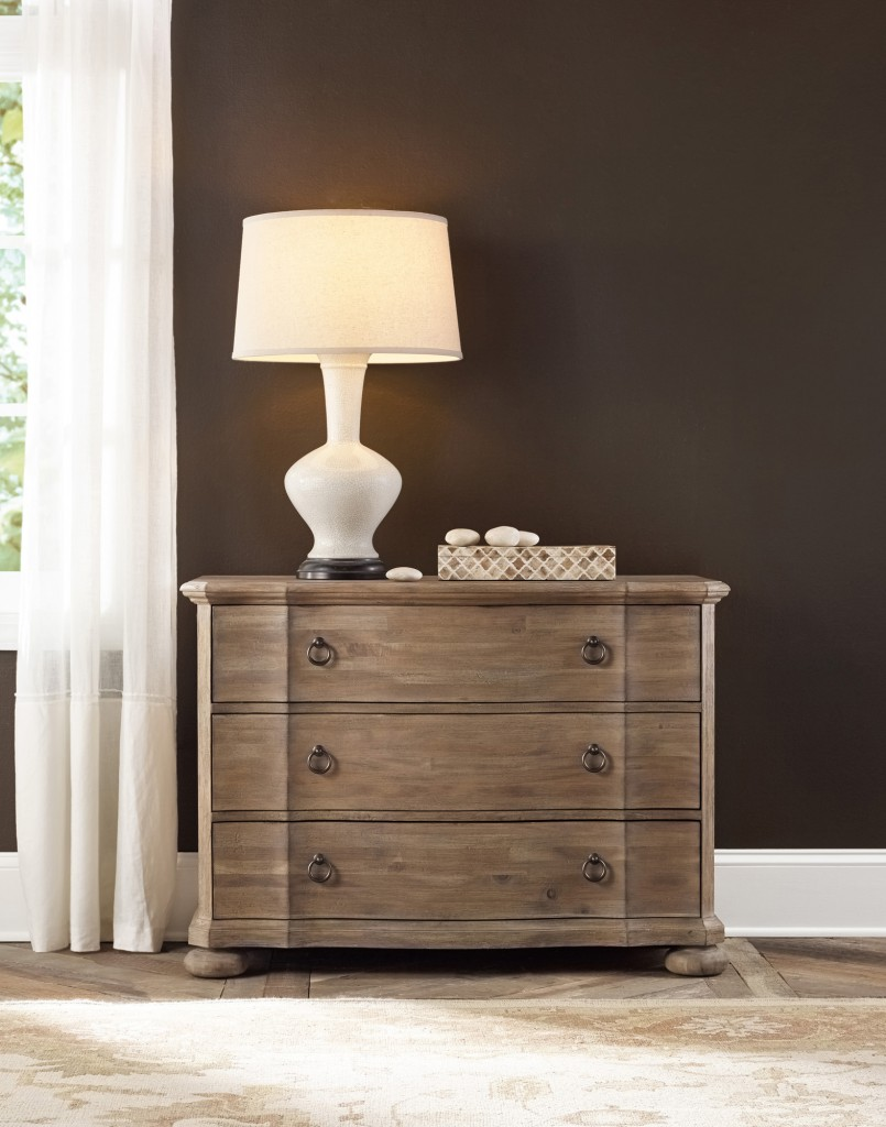 Natural finish on Corsica Bachelor's Chest reflects sun-washed beaches