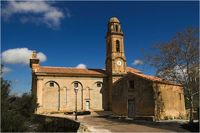 St Nicholas Church: Many of the Corsican churches reflect an Italian influence, more than French.