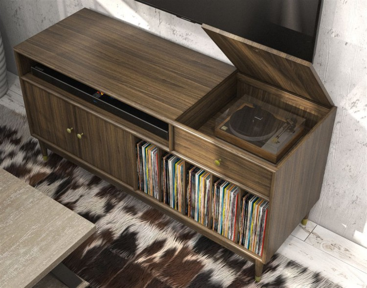 Studio 7H Credenza record player