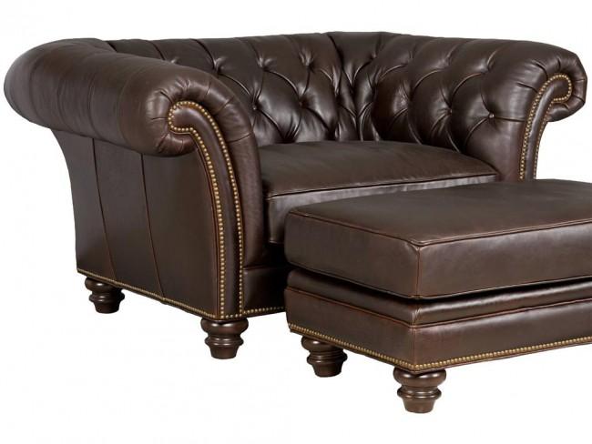 Layeringchair and ottoman