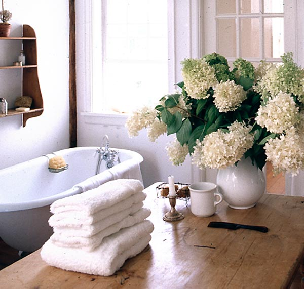 Winterwhitebathroomhydrangeas