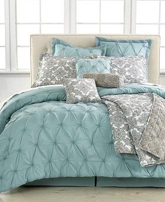 jasmine blue (pale aqua) tufted comforter macy's