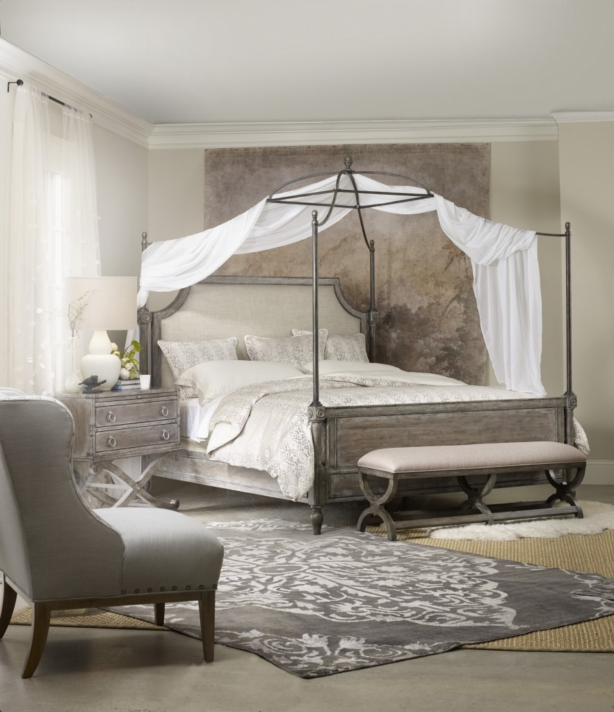 True Vintage Canopy Bed