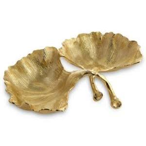michael aram gingko gold dish