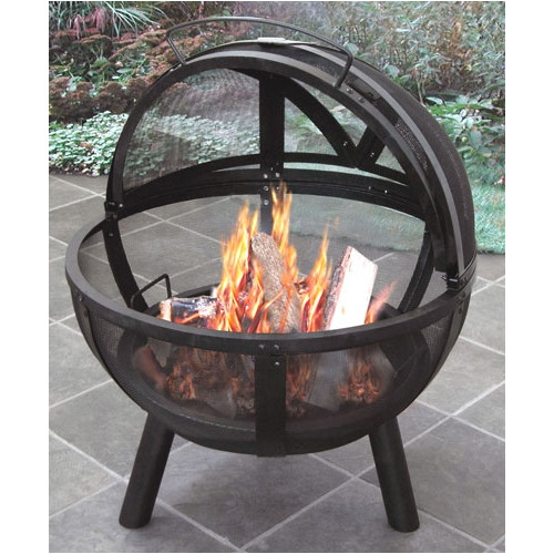 landmann ball of fire firepit wayfair