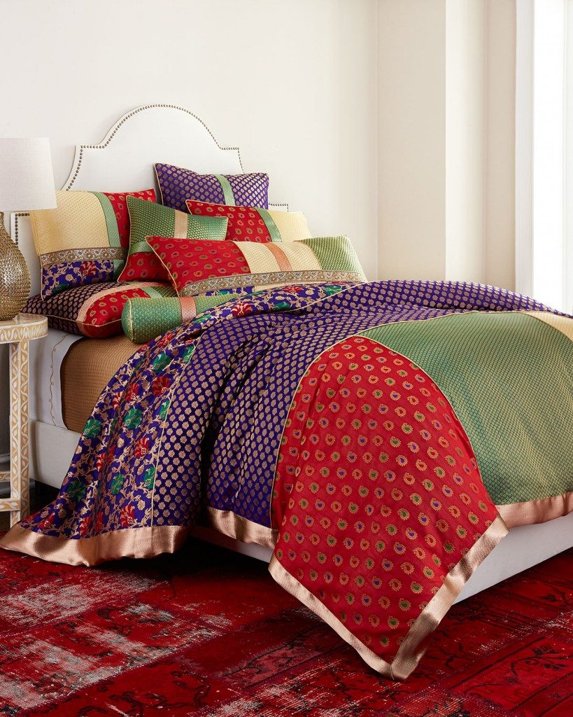 large pic zari bedding horchow