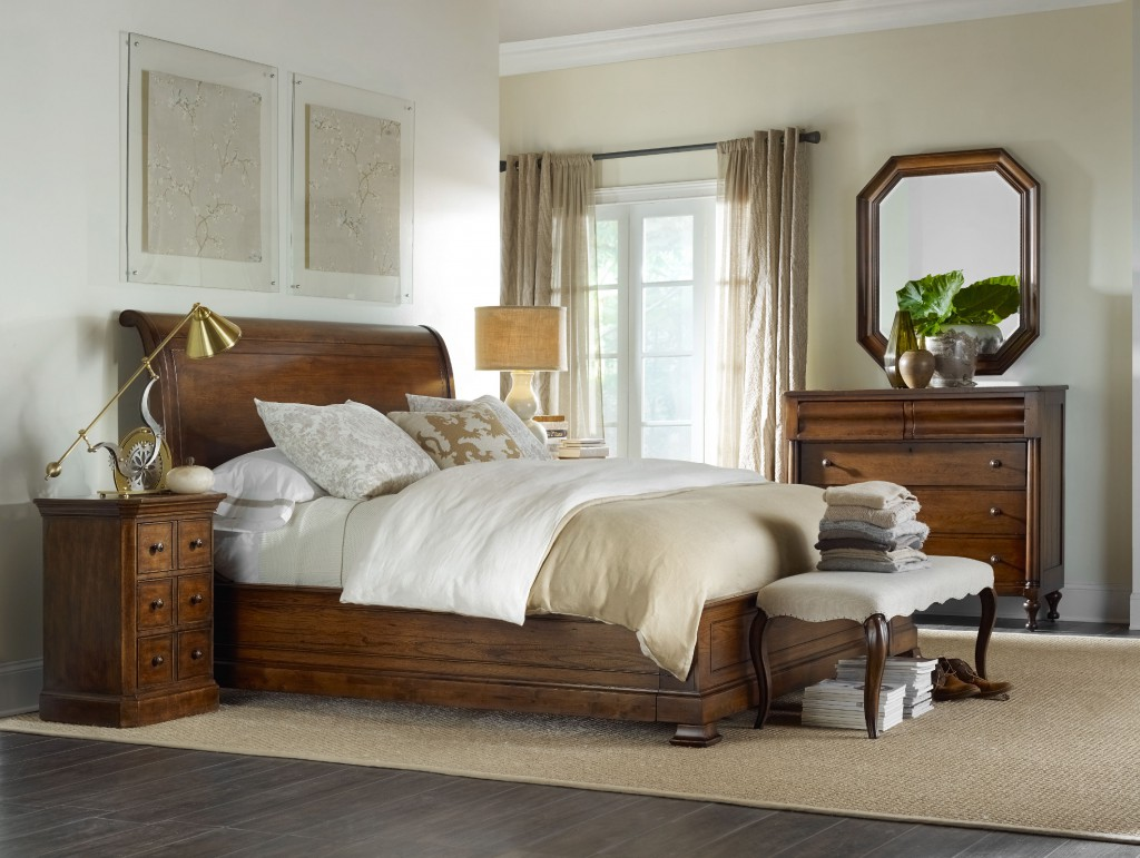 Nice Archivistsleighbedwithbench The Archivist classic sleigh bed