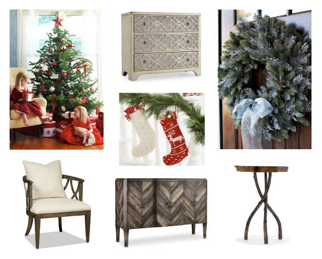 Haute Holiday Helpers Accent Furniture