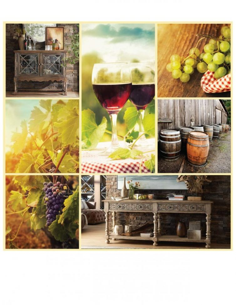 Bring Wine Country's Beauty and Bounty Home