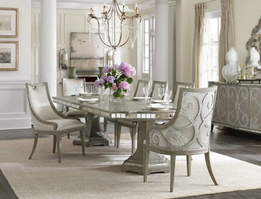 Stunning Here us how to shine and shimmer while dining Photo Hooker Furniture