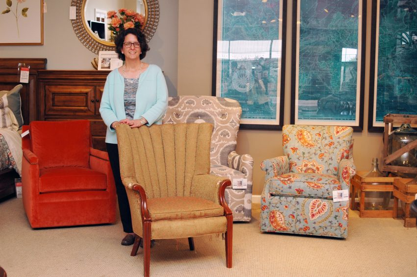 Vintage Sam Moore Chair Finds Its Way Home