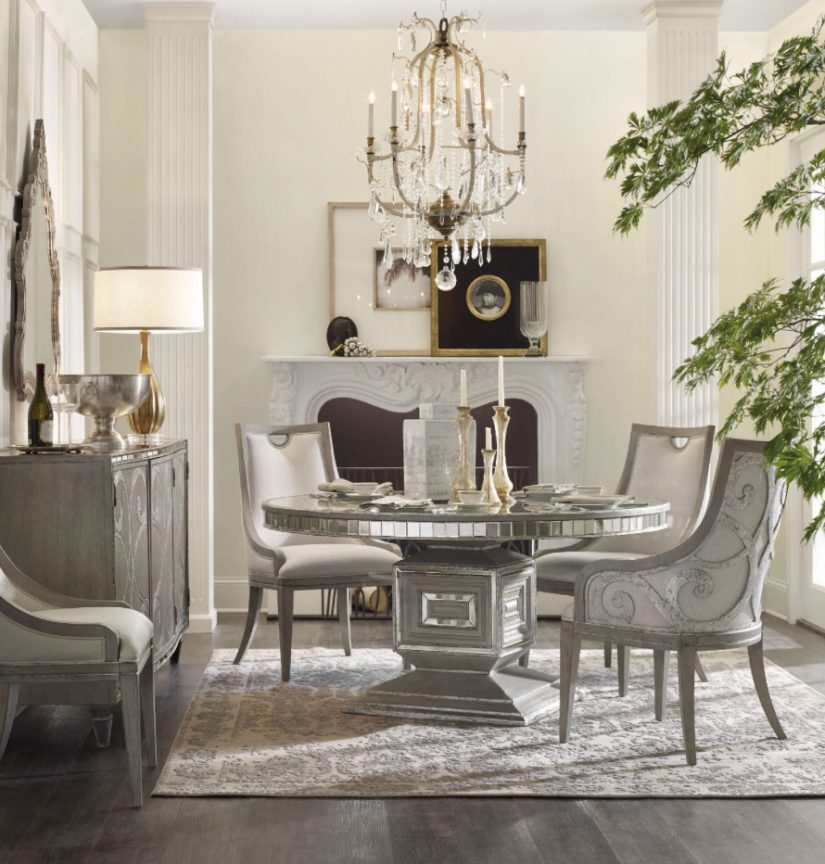 The Pemberleigh Round Table Dining Room Collection With: Gather 'Round The Table For The Holidays
