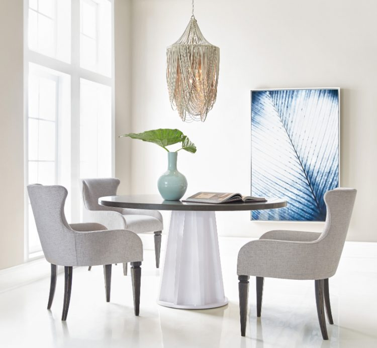 The Empire State Of Mind Dining Table Serves Up A Chic Modern Vibe With Its Striking
