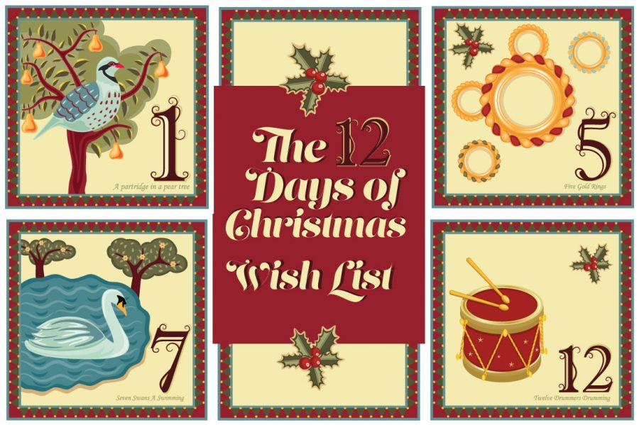 the 12 days of christmas wish list for home
