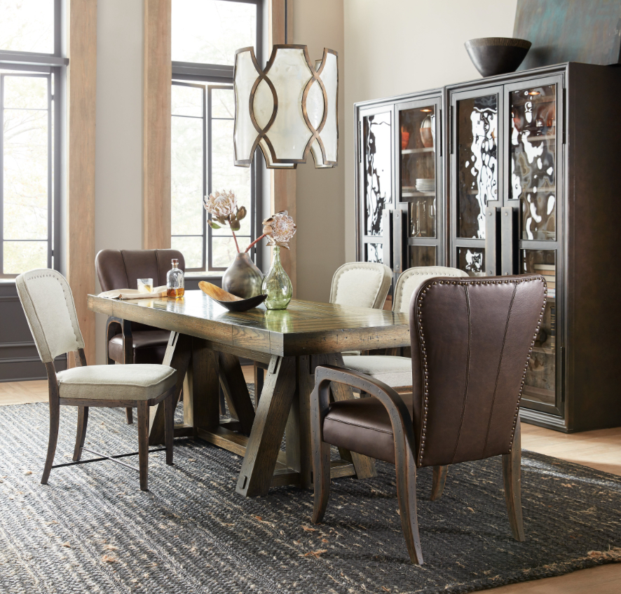 With An Adjustable Dining To Counter Height, The American Life Crafted  Friendship Table Is A Multi Function Marvel. Photo: Hooker Furniture