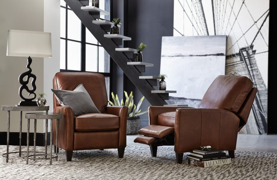 For Encouraging Rest And Relaxation You Can T Go Wrong With A Clic Leather Recliner Like The Shasta Photo Furniture